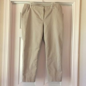 Chico's Skinny Khaki Crop Pants Sz 2.5